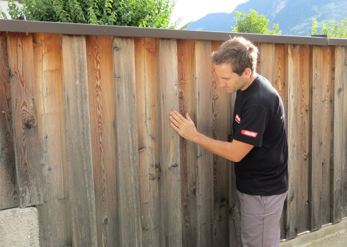 Painting, de-greying and renovating your garden fence